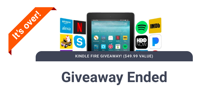 Kindle Fire Giveaway