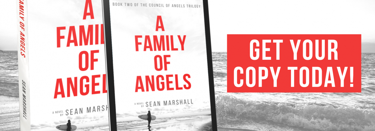 A Family of Angels Book Trailer Cover